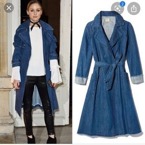 Gap Denim wrap coat size small